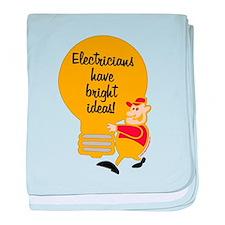 Electricians baby blanket