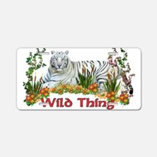 Wild Thing Aluminum License Plate