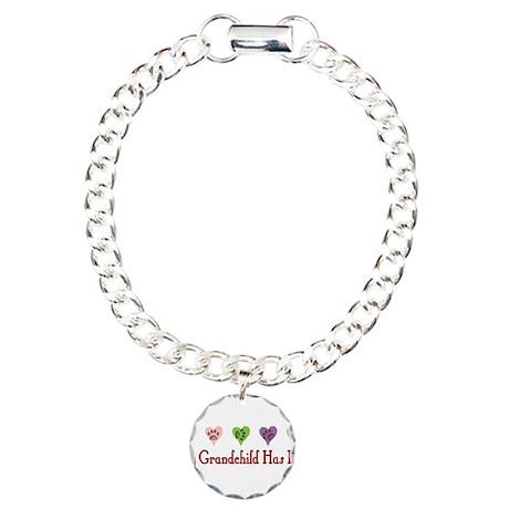 Furry Grandchild Charm Bracelet, One Charm