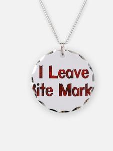 I Leave Bite Marks Necklace