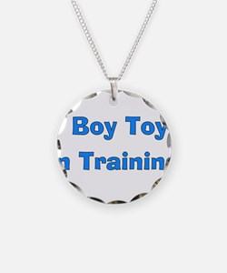 Boy Toy In Training Necklace