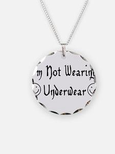 Not Wearing Underwear Necklace