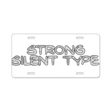 Strong Silent Type Aluminum License Plate