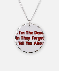 I'm The Deadly Sin Necklace