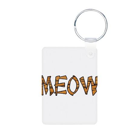 Kitty Cat Aluminum Photo Keychain
