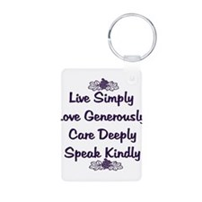 Optimism and Love Keychains