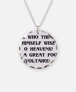 Wise Fool Necklace
