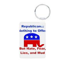 Anti-Republican Keychains