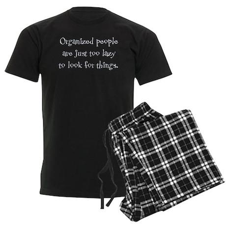Organized People Men's Dark Pajamas