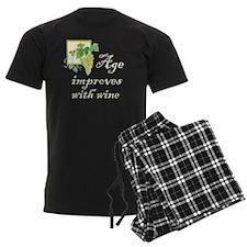 Age Improves with Wine Pajamas
