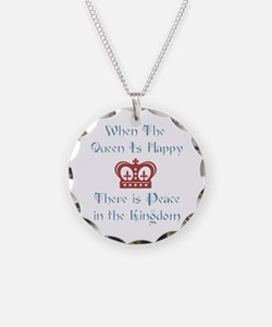 When the Queen is Happy Necklace