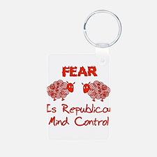 Fear Politics Keychains