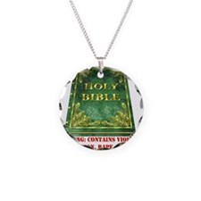 Bible Sex Violence Warning Necklace