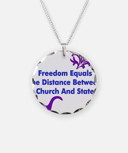 Separation of Church and Stat Necklace