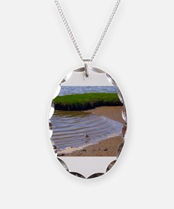 Seagull in Surf Necklace