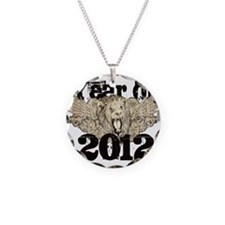 Year of 2012 Winged Lion Necklace