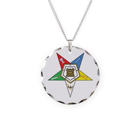 OES Necklace Circle Charm