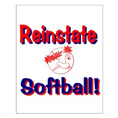 Reinstate Softball Posters