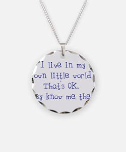 My Own Little World Necklace