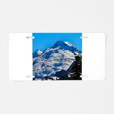 Artist Point Mt. Baker Aluminum License Plate