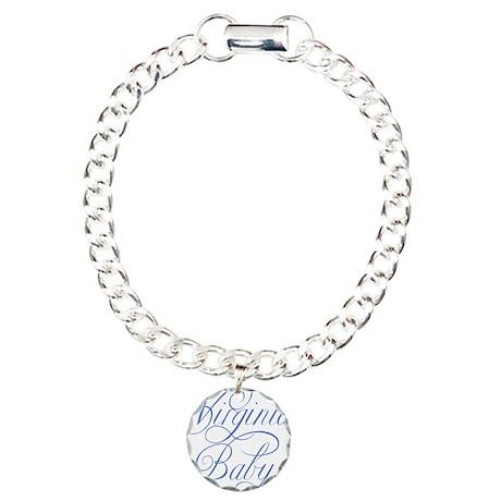 Virginia Baby (blue) Charm Bracelet, One Charm
