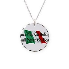 CUSTOM For Italian Stud Guy Necklace