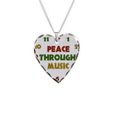Peace Through Music Necklace