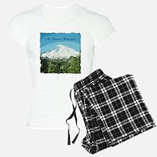 Mt. Rainier #2 Pajamas