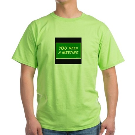 Recovery Redressing Green T-Shirt