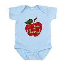 Classy Teacher Infant Bodysuit