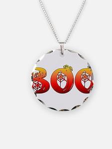 Boo Halloween T-Shirt Necklace