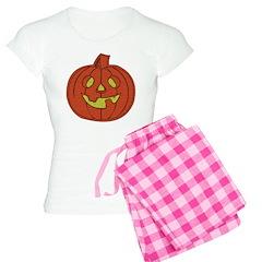 Grinning Halloween Pumpkin Pajamas