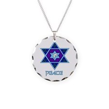 Peace For Hanukkah Necklace