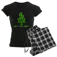 Alien Christmas Tree Pajamas