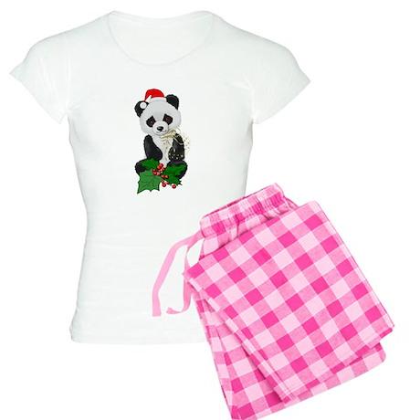 Christmas Panda Women's Light Pajamas