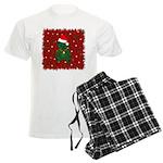 Christmas Bear Men's Light Pajamas