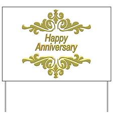 Wedding Anniversary Yard Sign