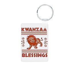 Happy Kwanzaa Lion Keychains