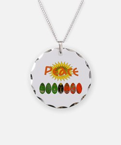 Kwanzaa Peace Shirts Necklace