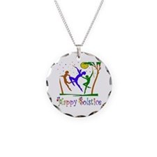 Winter Solstice Dancers Necklace