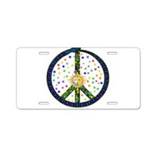 Solstice Peace Aluminum License Plate