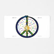 Solstice Peace Aluminum License Plate