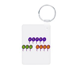 New Years Balloons Keychains