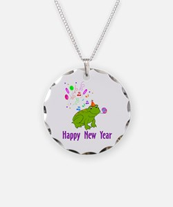 New Years Frog Necklace