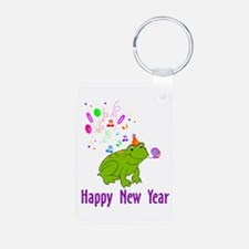 New Years Frog Keychains