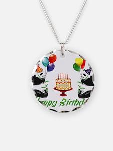 Birthday Pandas Necklace