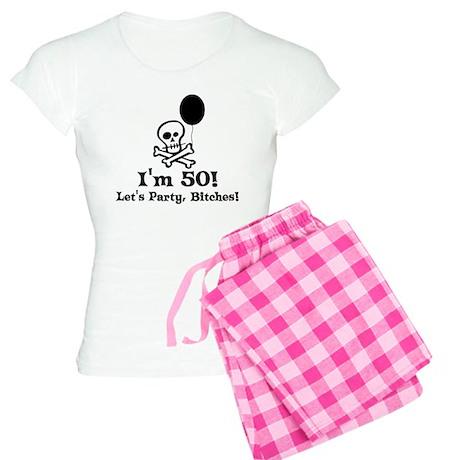 50th Birthday Party Women's Light Pajamas