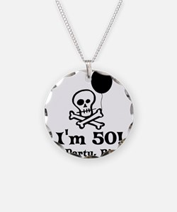 50th Birthday Party Necklace