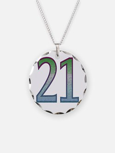 21st Birthday Shirt Necklace