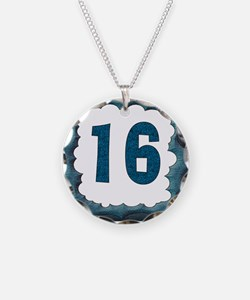 16th Birthday T-Shirts Necklace